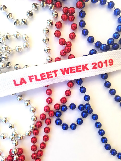 Beads LA Fleet Week 2019 LA Waterfront San Pedro Port of Los Angeles, California