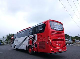 Sewa Bus Pariwisata Terbaru SHD 2018