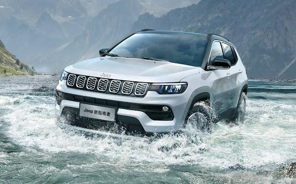 Novo Jeep Compass 2020 chega ao Brasil este ano