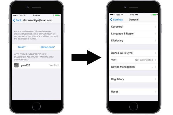 Cara Terbaru Jailbreak iOS 10.2 via Yalu dan Cydia Impactor