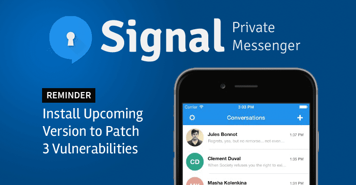 Using 'Signal' for Encrypted Chats? You Shouldn't Skip Its Next Update