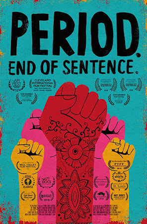 Poster Of Period. End of Sentence. In Dual Audio Hindi English 300MB Compressed Small Size Pc Movie Free Download Only At worldfree4u.com