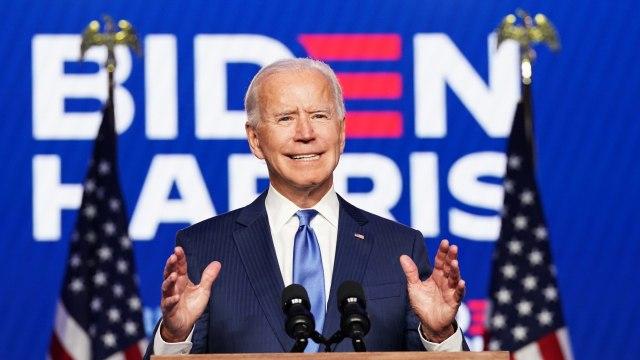 Joe Biden Kutip Lirik Lagu Katolik Saat Pidato Kemenangan Pilpres
