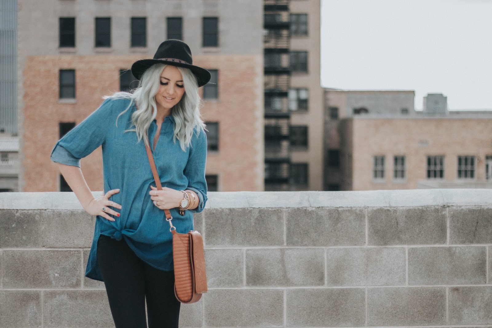 Ombre Top, Spring Outfit, Boho Outfit