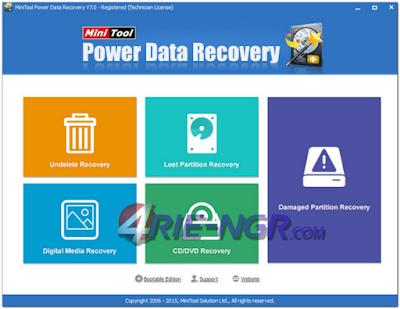 MiniTool Power Data Recovery 7.0.0.0 Full Latest Version