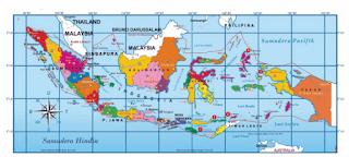 Peta Kondisi Geografis Negara Indonesia www.simplenews.me