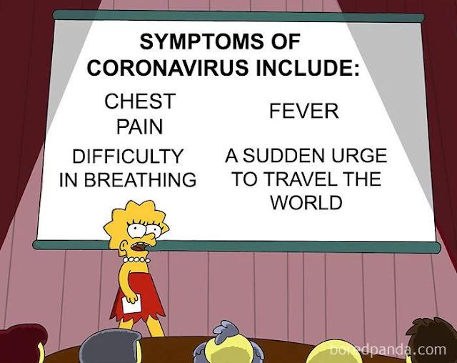 SYMPTOMS OF COVID 19