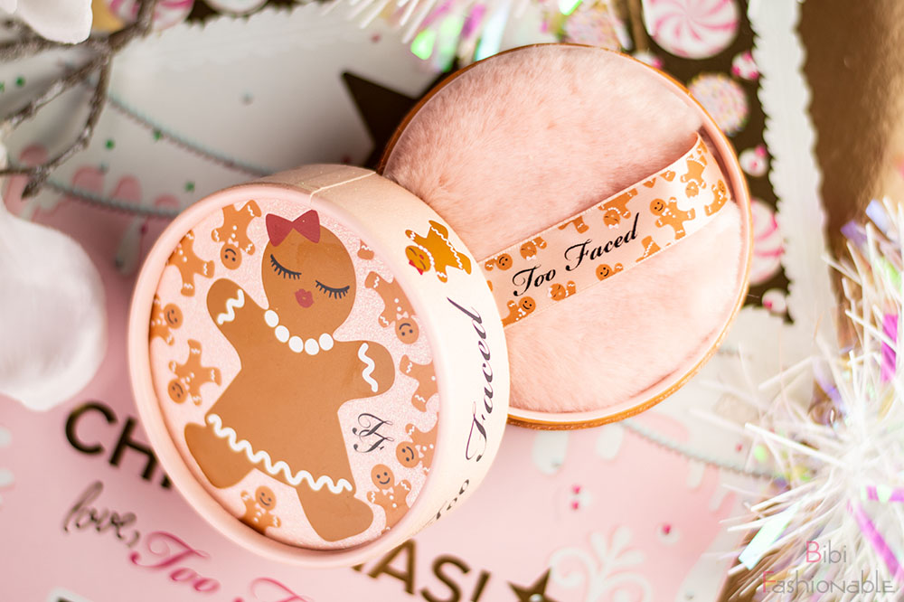 Too Faced Holiday Collection Gingerbread Sugar Body Powder Flatlay