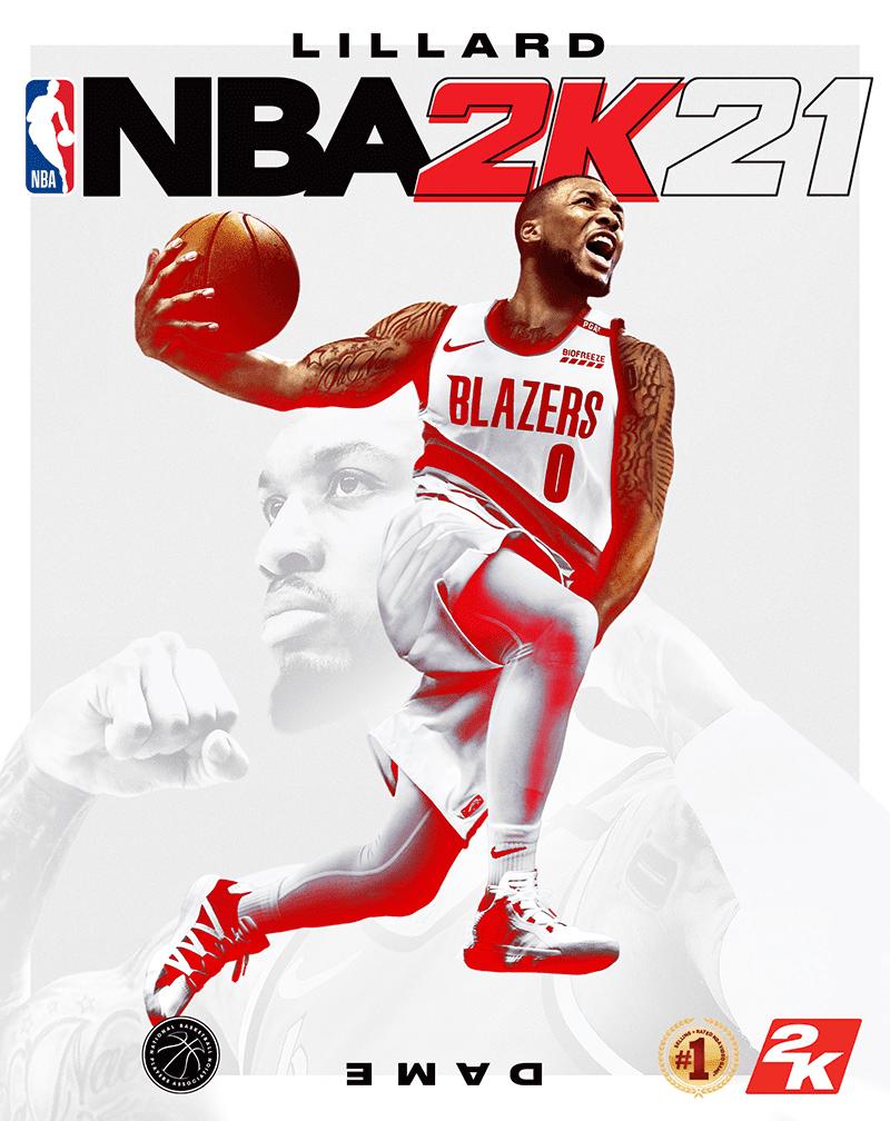 #LillardTime! Damian Lillard is the Cover Athlete of NBA 2K21!