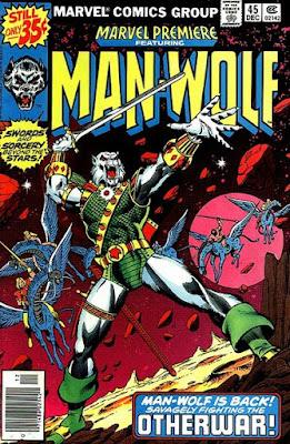 Marvel Premiere #45, Man-Wolf