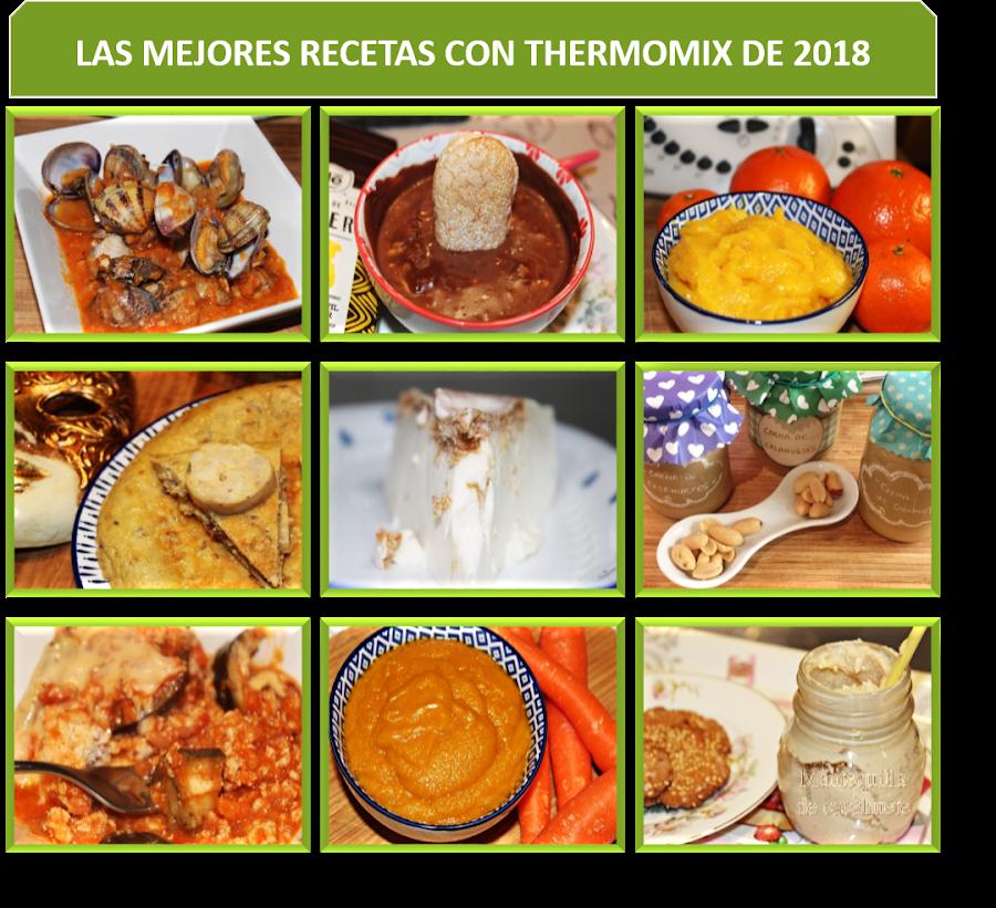 LAS MEJORES RECETAS CON THERMOMIX DE 2018