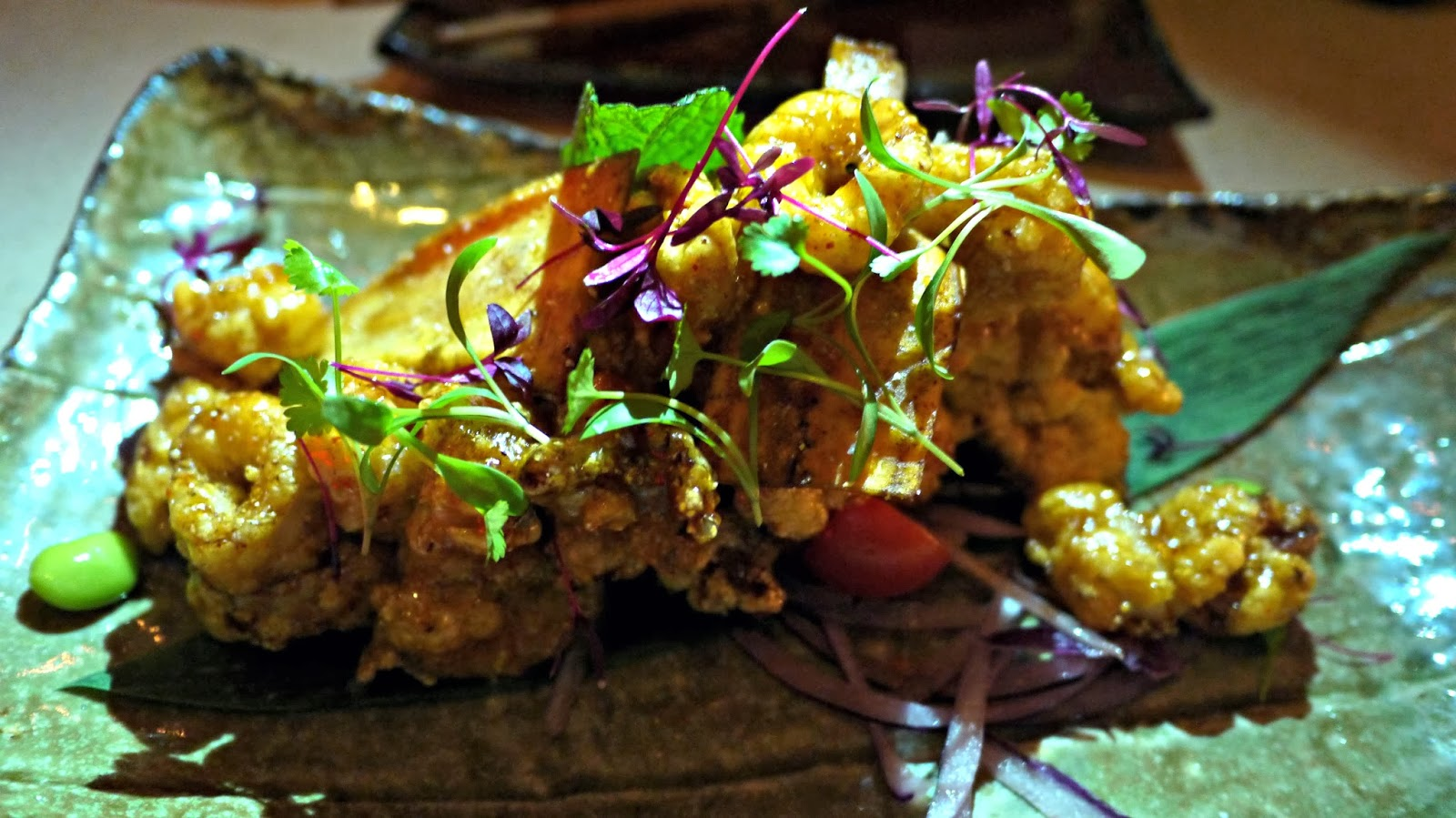 Sushisamba London Sweet and Sour Calamari Review
