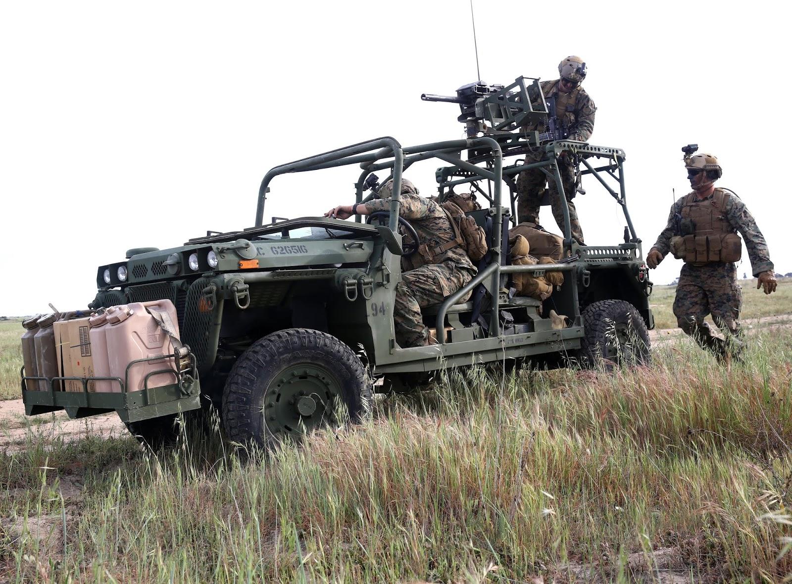 Бойові бггі або надлегкі машини для спецпризначенців