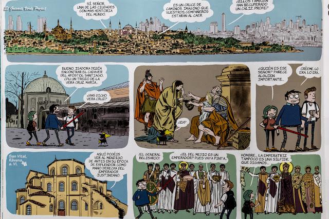 Belisario en Historia del Arte en Cómic por El Guisante Verde Project