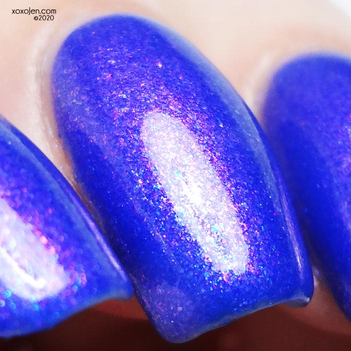 xoxoJen's swatch of Lollipop Possse Colorful Dust That Sparkles