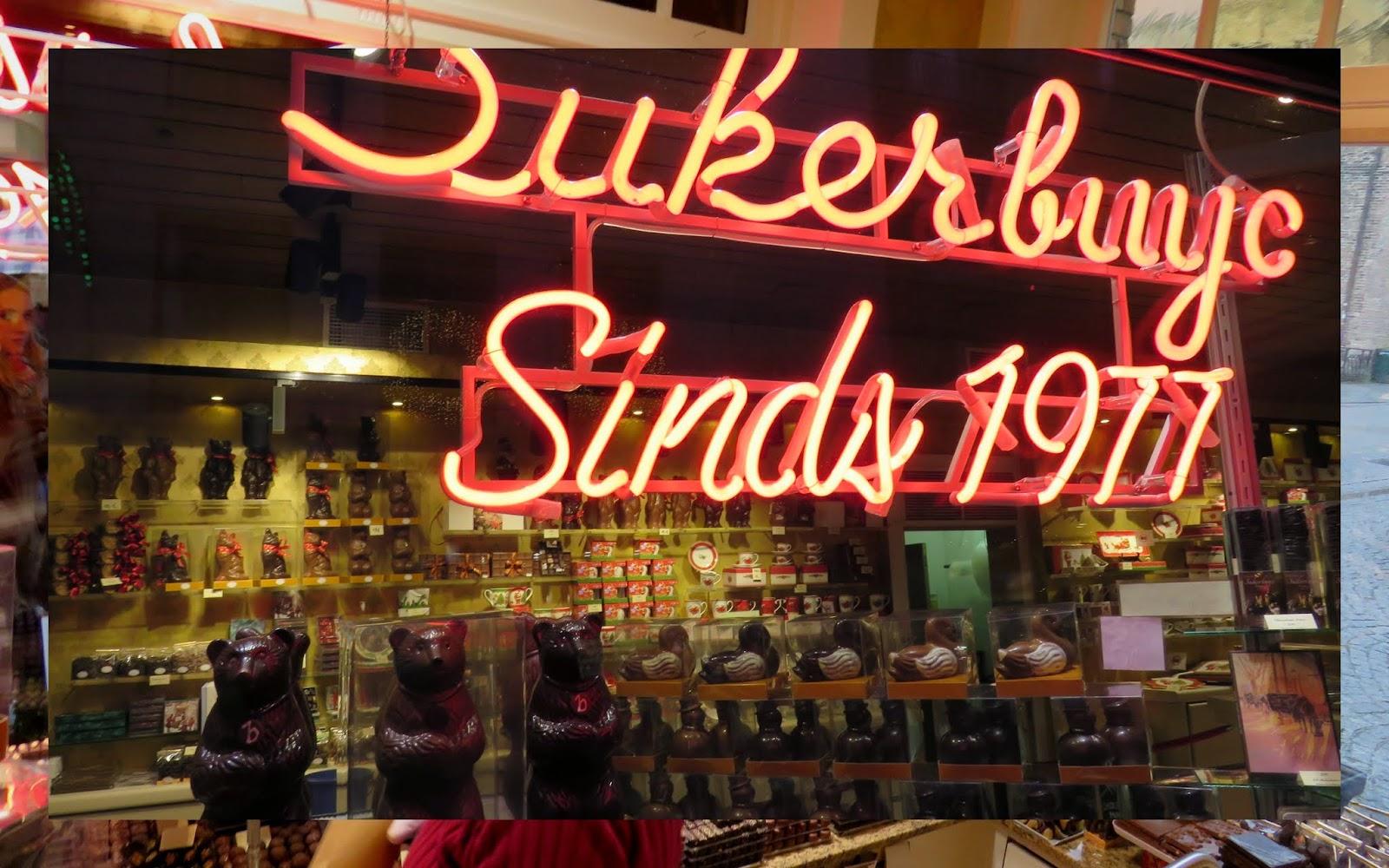 Sukerbuyc Chocolatier in Bruges