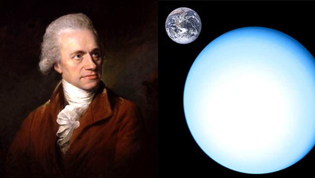 Herschell Penemu Uranus
