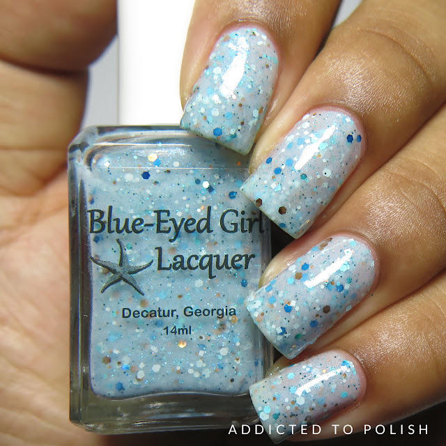 Blue Eyed Girl Lacquer Siren's Sea Sanctuary