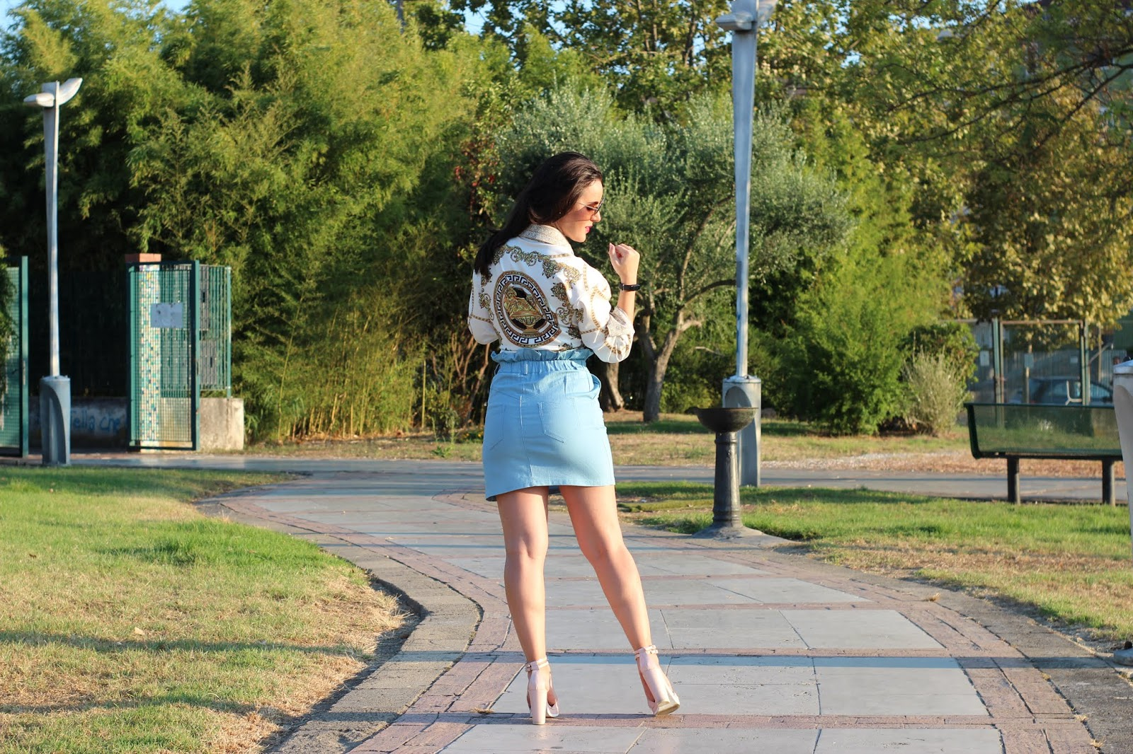 Back to school con Femme Luxe Uk e due look Versace Inspired