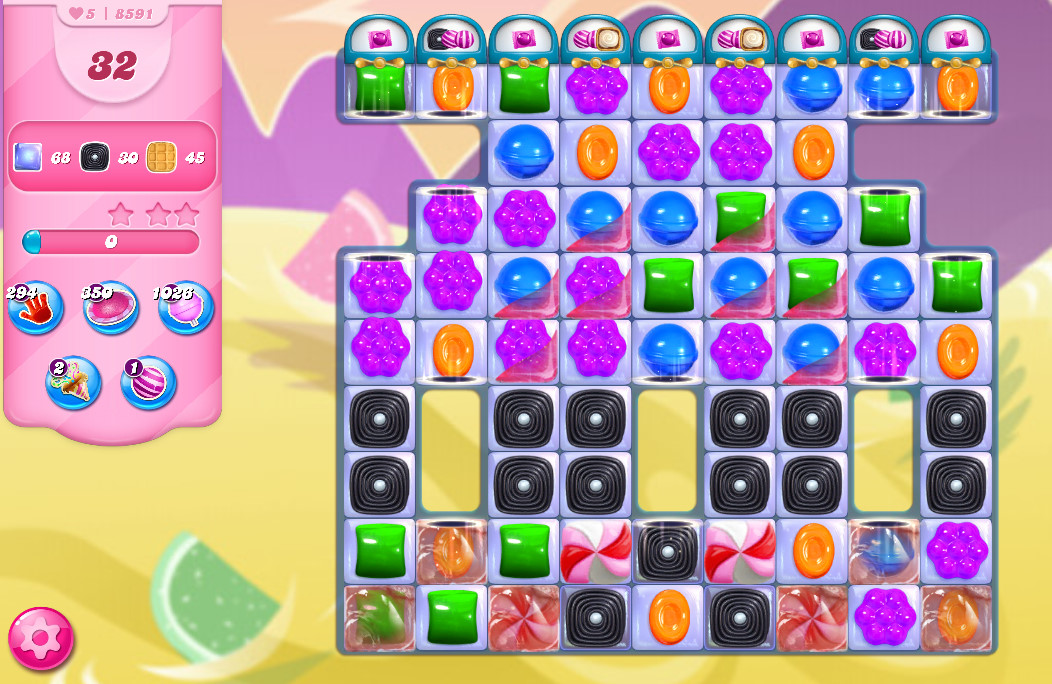 Candy Crush Saga level 8591