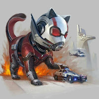 Gatos super héroes