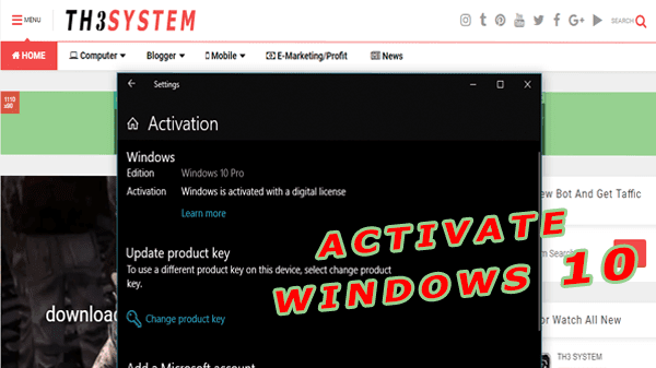How to activate windows 10 pro Lifetime (Last Updated) for free