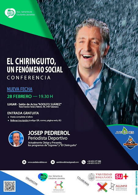 CONFERENCIA (Josep Pedrerol)