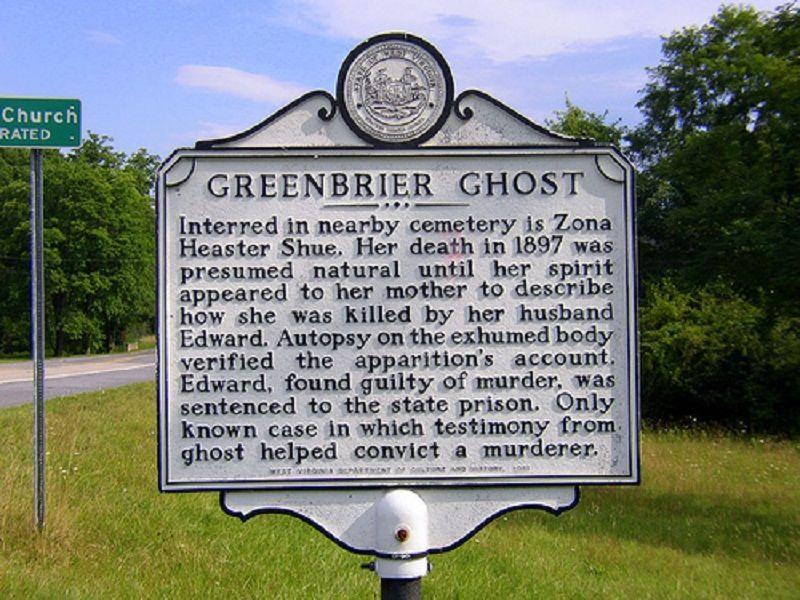 "Image result for greenbrier ghost"""