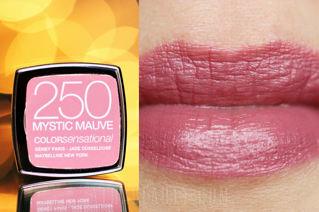 Maybelline • ColorSensational • 250 Mystic Mauve