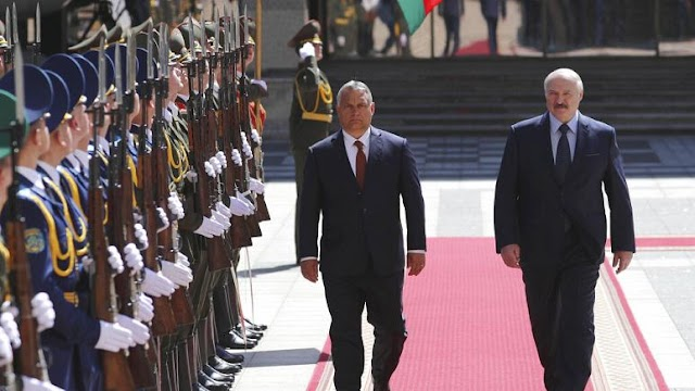 Orbán Minszkben: az EU szüntesse meg a Fehéroroszországgal szembeni szankciókat!