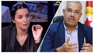 سمير الشفي : الفة الحامدي حشرة و « ذبابة » و اكاذيبها لن تأثر في رموز الاتحاد