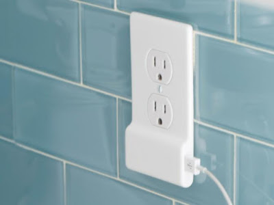 SnapPower Charger USB-equipped power outlet cover Giveaway