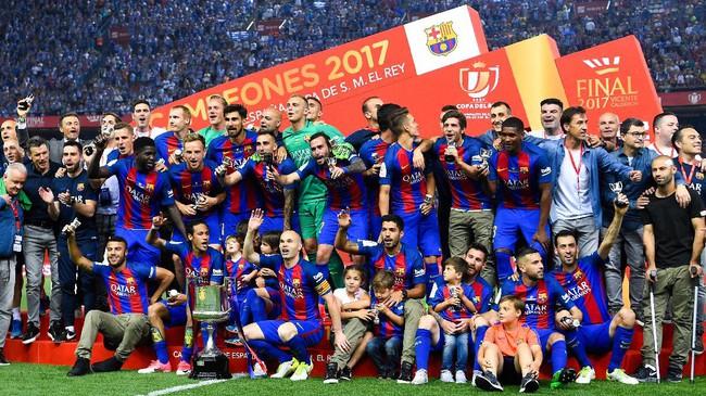 Barca dan Madrid Ditantang Klub Divisi Tiga di Babak 32 Besar