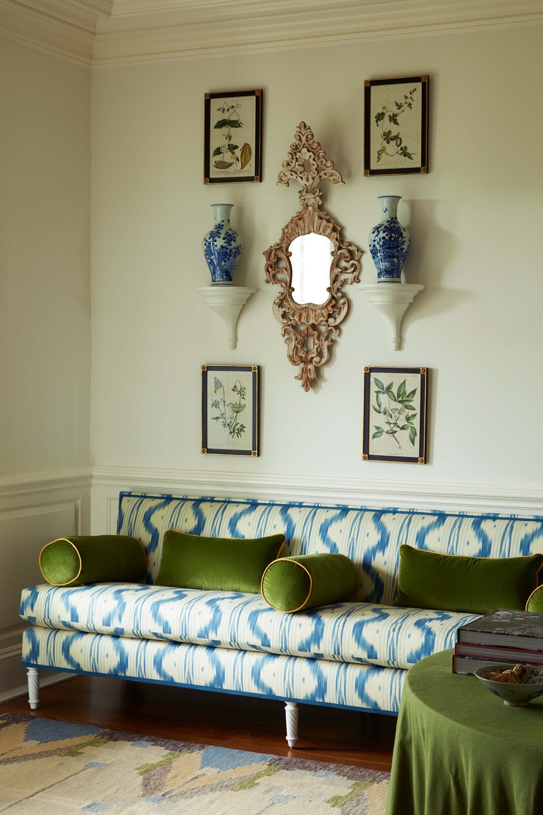 Décor Inspiration: A Beautiful Greenwich Estate by Sarah Bartholomew Design