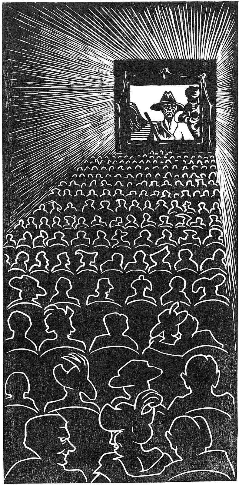 Maurits Cornelis Escher 1920, a cinema
