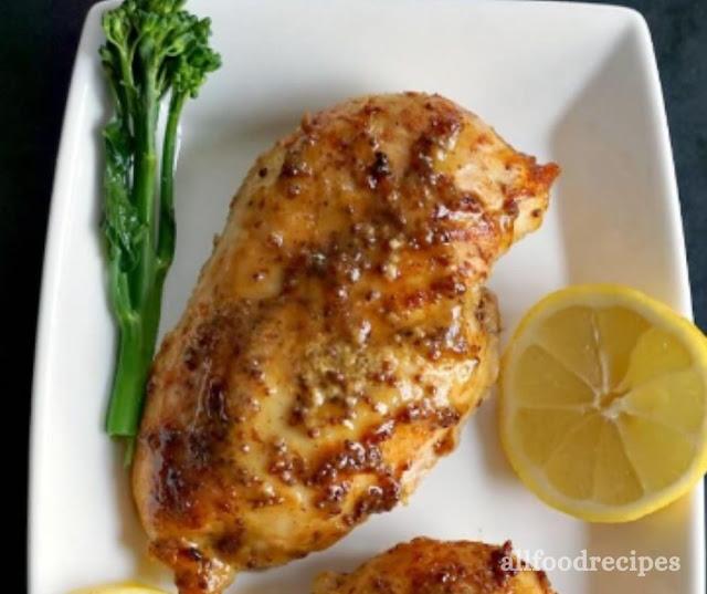BAKED HONEY MUSTARD CHICKEN BREAST WITH LEMON RECIPE