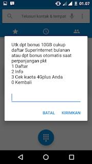 gratis kouta 10 GB indosat im3 ooredoo jaringan 4G