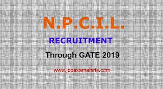 Recruitment of Engineers in NPCIL through GATE