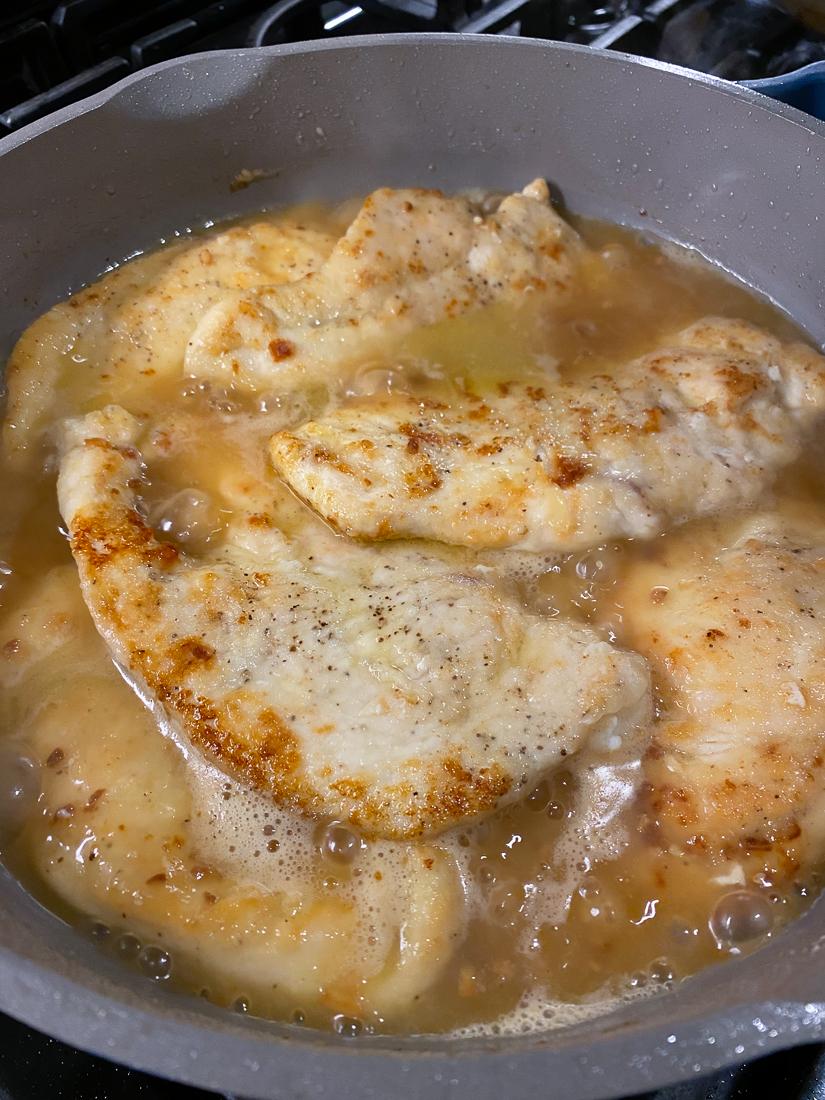 easy chicken piccata recipe, easy chicken piccata dinner, lemon chicken piccata
