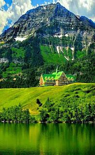 Wallpaper HP pegunungan