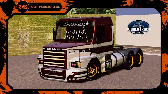 Skins World Truck, Skins Scania 113, Skins 113, Scania 113H
