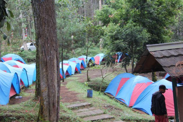 Paket Outbound Camping di Cikole Lembang