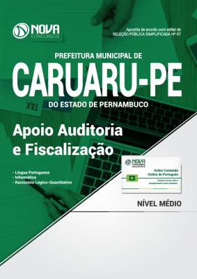 Apostila Concurso Prefeitura de Caruaru - Apoio á Auditoria e Fiscalização