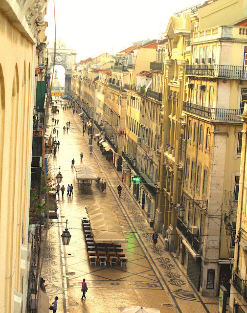 Lissabon - rua Augusta