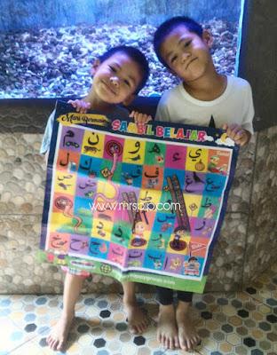 Ajar ALIF BA TA cara mudah || Poster Dam Alif Ba Ta