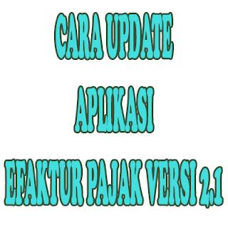 Aplikasi e-faktur, update e-faktur, update aplikasi efaktur pajak