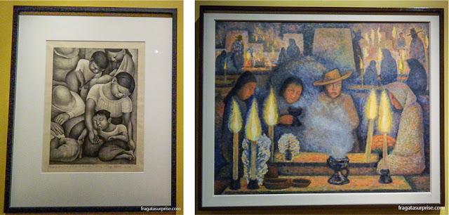 Diego Rivera: A Mãe Proletária e Dia dos Mortos, Museu de Arte Moderna da Cidade do México