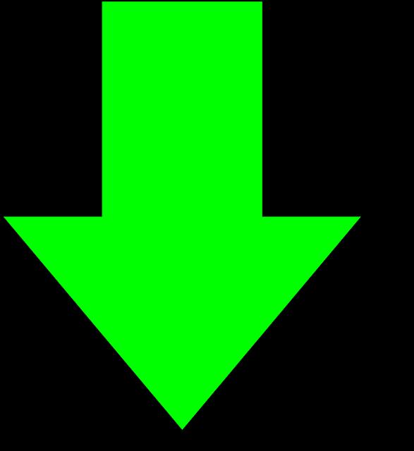 around the corner arrow clipart