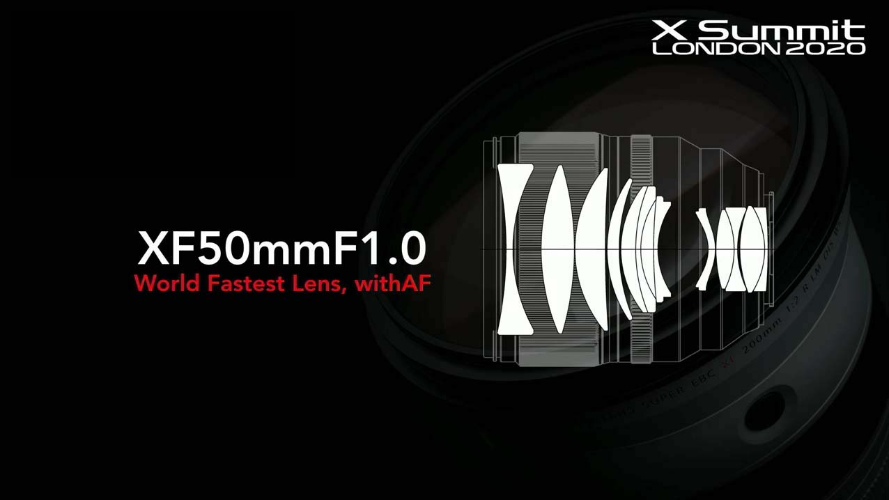 Оптическая схема объектива Fujifilm Fujinon XF 50mm f/1 R WR