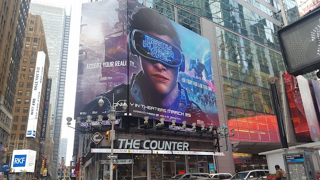 ready player one display in New York